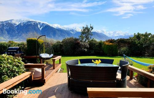 Apartment for 2 people in Kaikoura.
