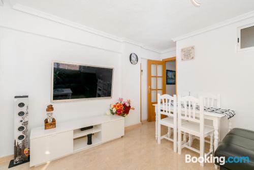 Apartamento de 75m2 en Benidorm con conexión a internet