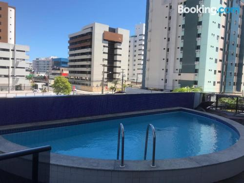 1 bedroom apartment apartment in João Pessoa with pool.