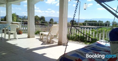 Ideal one bedroom apartment with terrace.
