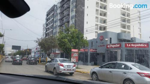 Apartamento de 65m2 en Chiclayo con conexión a internet