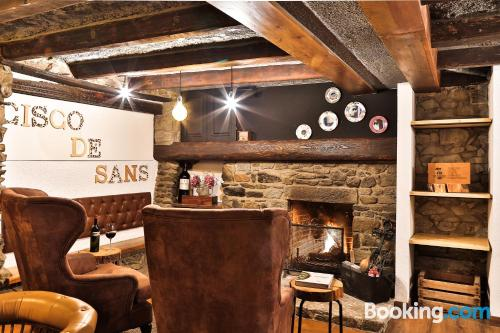 Place in Andorra la Vella. Ideal for two!
