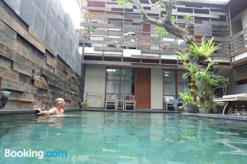 Apartamento con piscina. ¡23m2!