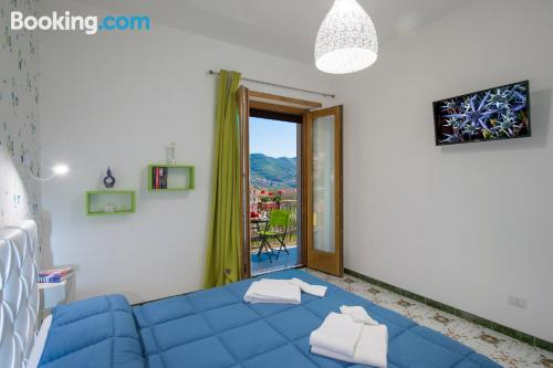 Amplio apartamento en zona inmejorable en Agerola