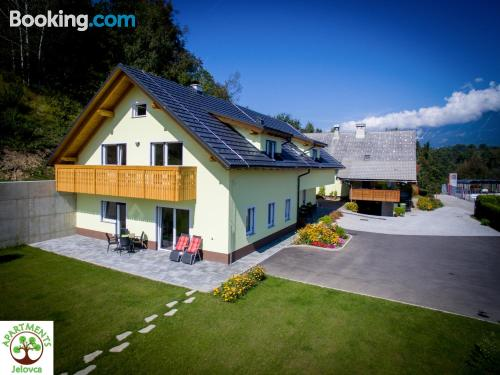 Espacioso apartamento en Radovljica perfecto para cinco o más