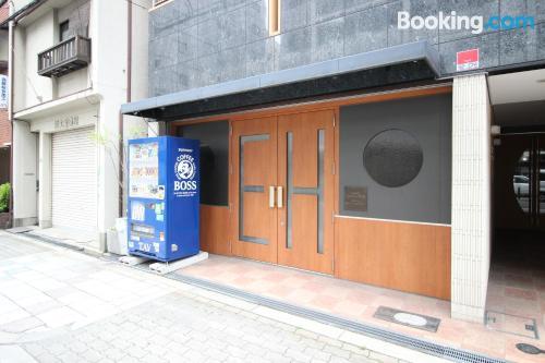 Perfecto apartamento de una habitación en Osaka.