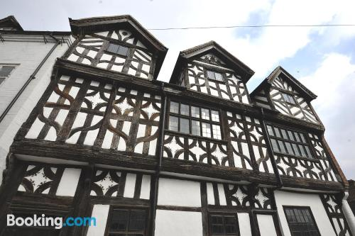 One bedroom apartment in Bridgnorth with internet