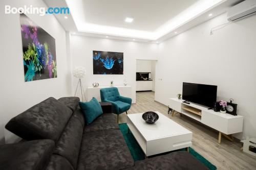 One bedroom apartment in Arandjelovac. Kid friendly apartment!