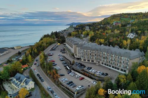 Experience in La Malbaie with terrace