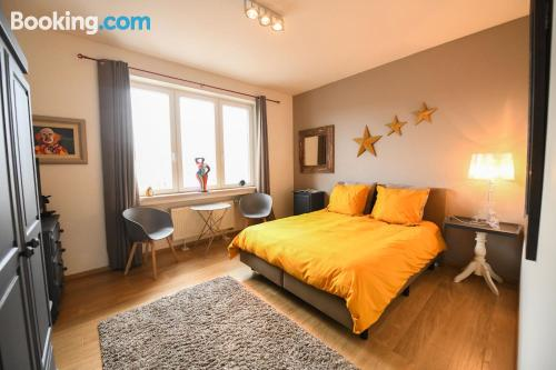 Acogedor apartamento en Tournai con terraza y wifi