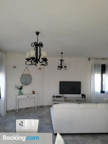 Spacious home with wifi and terrace.