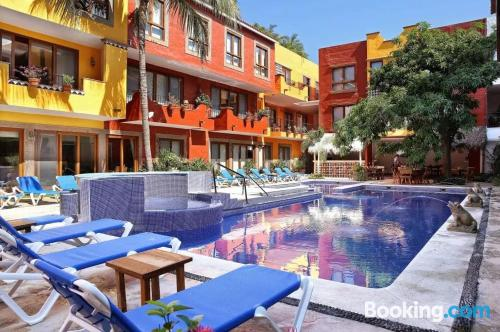 Apartamento en Sayulita. ¡Aire acondicionado!