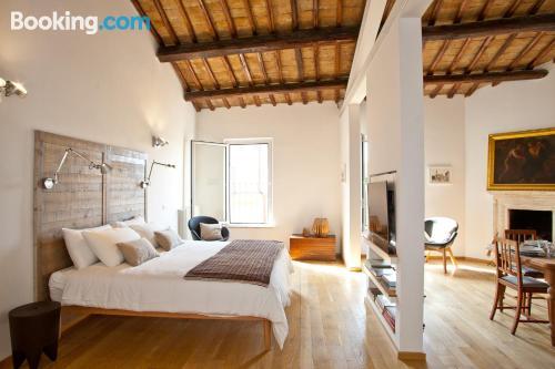Sleep in amazing location. Terrace!