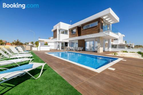 Place for 6 or more in Ayia Napa with wifi and terrace.