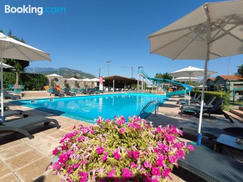 Place in Kalabaka with terrace and pool.