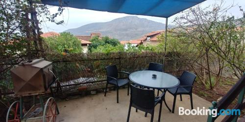 Ideal 1 bedroom apartment with internet and terrace
