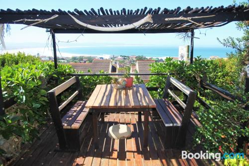 Terrace and internet apartment in Jeffreys Bay. Small!