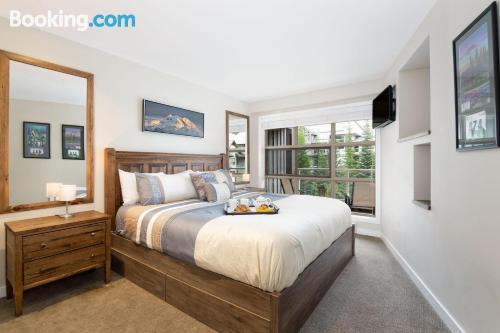 1 bedroom apartment in Whistler. 53m2!