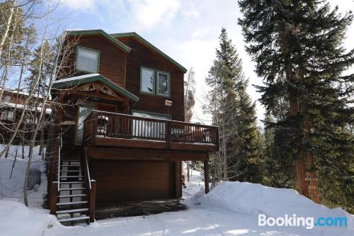 Home with internet. Breckenridge is waiting!.