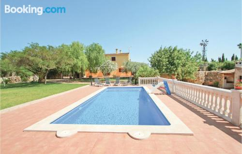 Downtown with swimming pool in Sencelles. Great for families