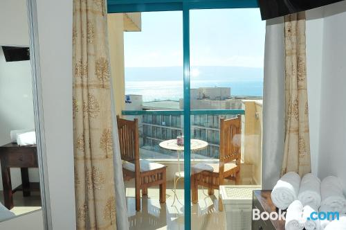 Home in Tiberias with terrace and internet.