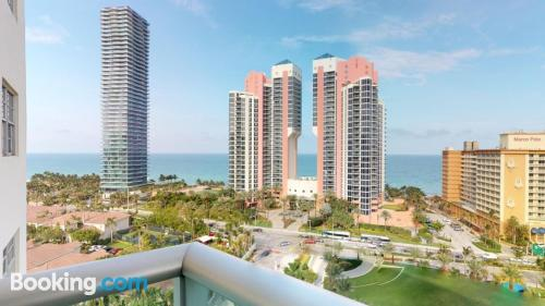 Two bedroom place in Sunny Isles Beach with pool