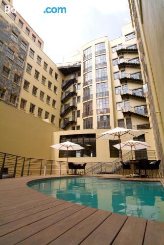 Appartamento con terrazza e Wifi, a Johannesburg