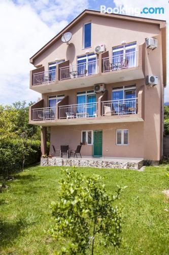 Budva home with terrace
