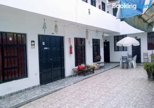 Apartamento con terraza en Huanchac.