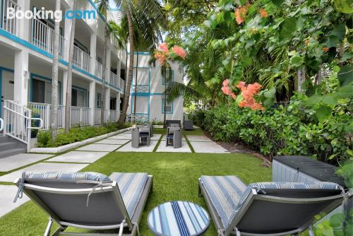 Place in Miami with internet.
