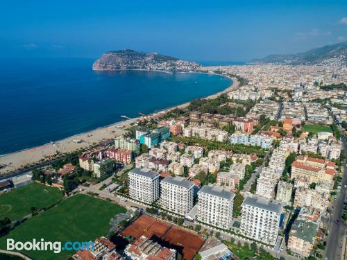 Home with air-con in Alanya.