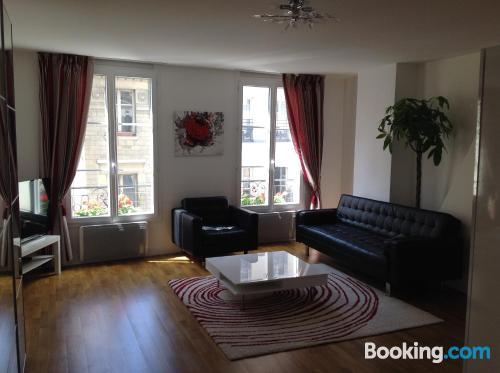 Apartment for couples in Paris in center