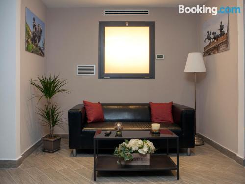 Apartamento con internet y aire acondicionado