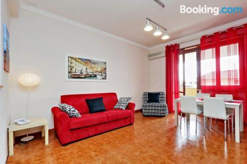 Amplio apartamento en Roma. Ideal para grupos