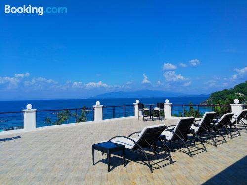 Apartment with terrace. Enjoy your pool in Puerto Galera!
