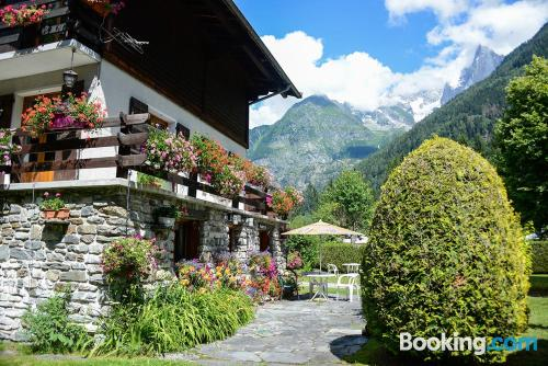Home in Chamonix with wifi.