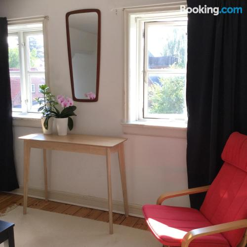 Good choice, 2 rooms with terrace