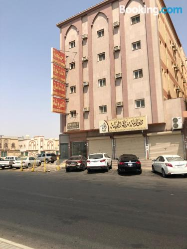 Large place in Tabuk with internet.