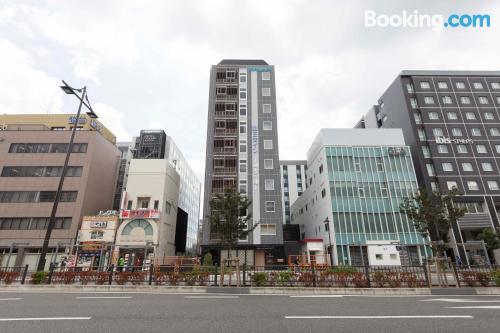 Práctico apartamento dos personas en Kioto.