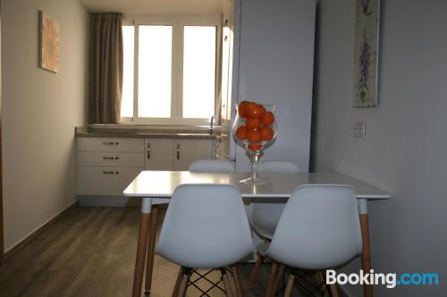 Apartamento de 31m2 en Málaga con conexión a internet