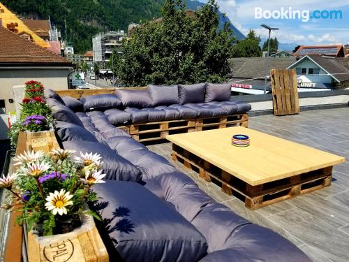 Interlaken apartment with heating and wifi