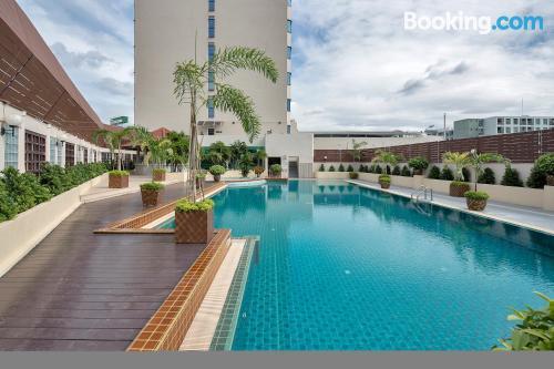 Apartamento para dos personas en Bangkok. ¡Wifi!