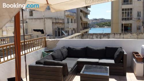 Apartamento con aire acondicionado en Sliema.