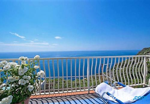 Praiano home with terrace!.