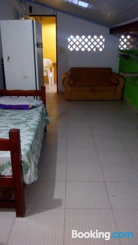Apartamento para cinco o más con vistas.