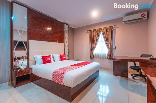 Apartamento en Tangerang con aire acondicionado.