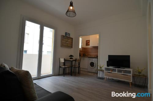 Centric apartment with heating and wifi
