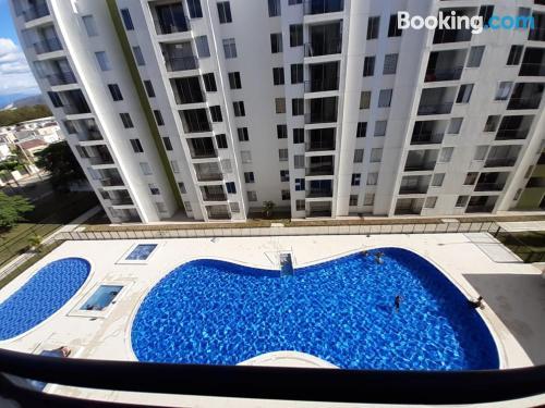 Apartment in Ricaurte ideal for families.