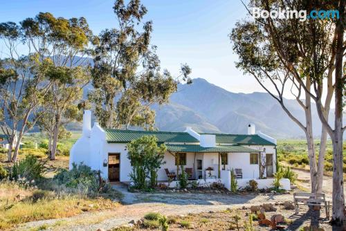 Comfortable home in Montagu with swimming pool.