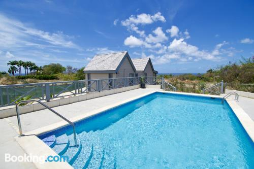 Home for two in Saint James with swimming pool.